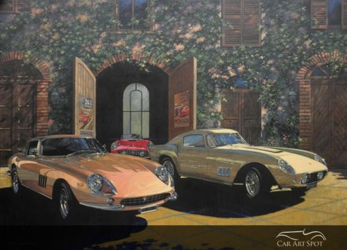 AFAS Automotive Artist Barry Rowe
