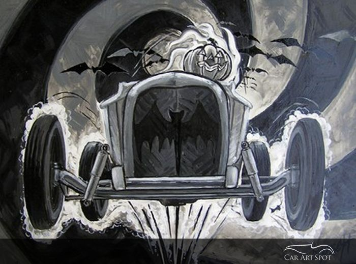 Car Art by Bruce Gossett