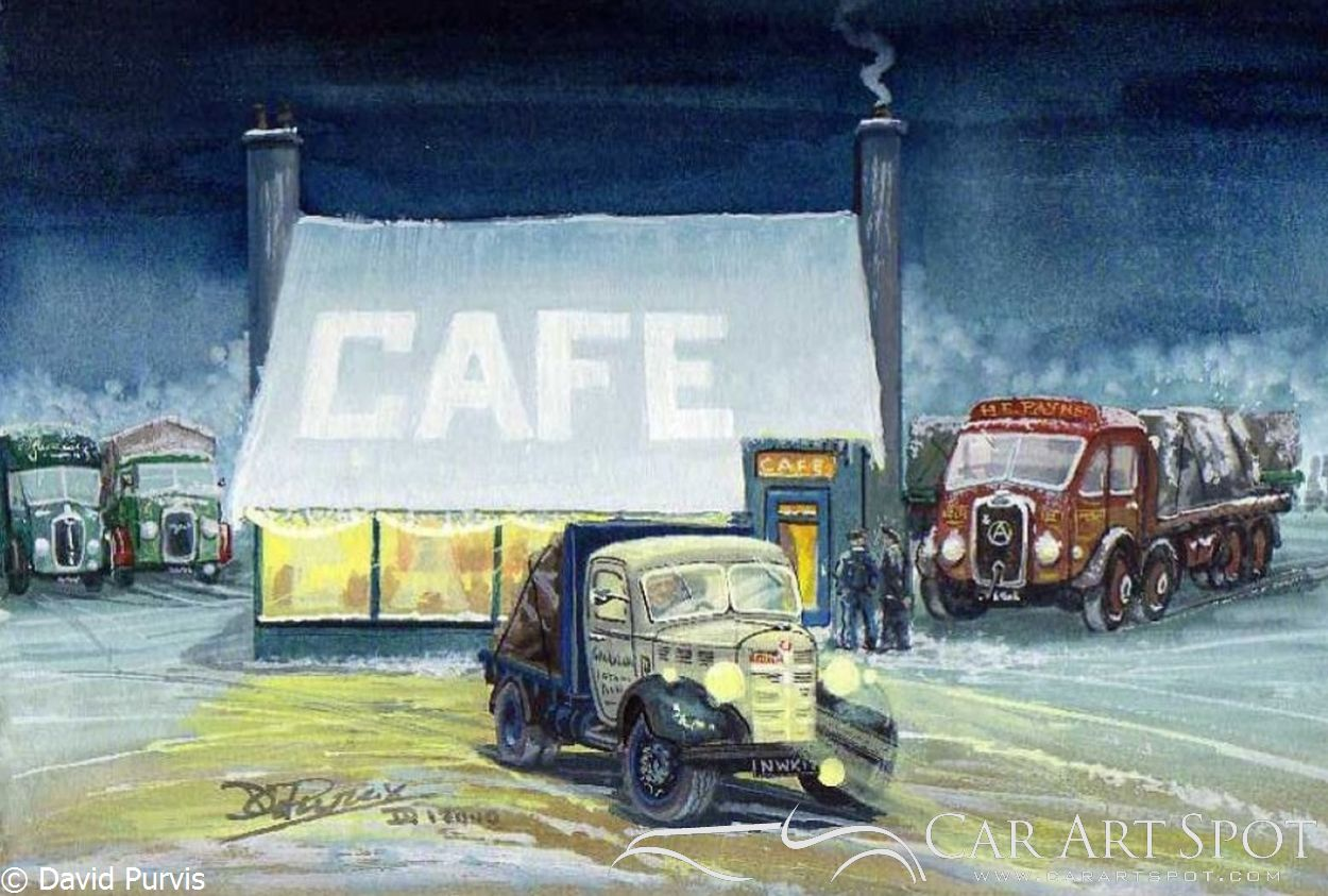 A1 Transport Cafe by David Purvis