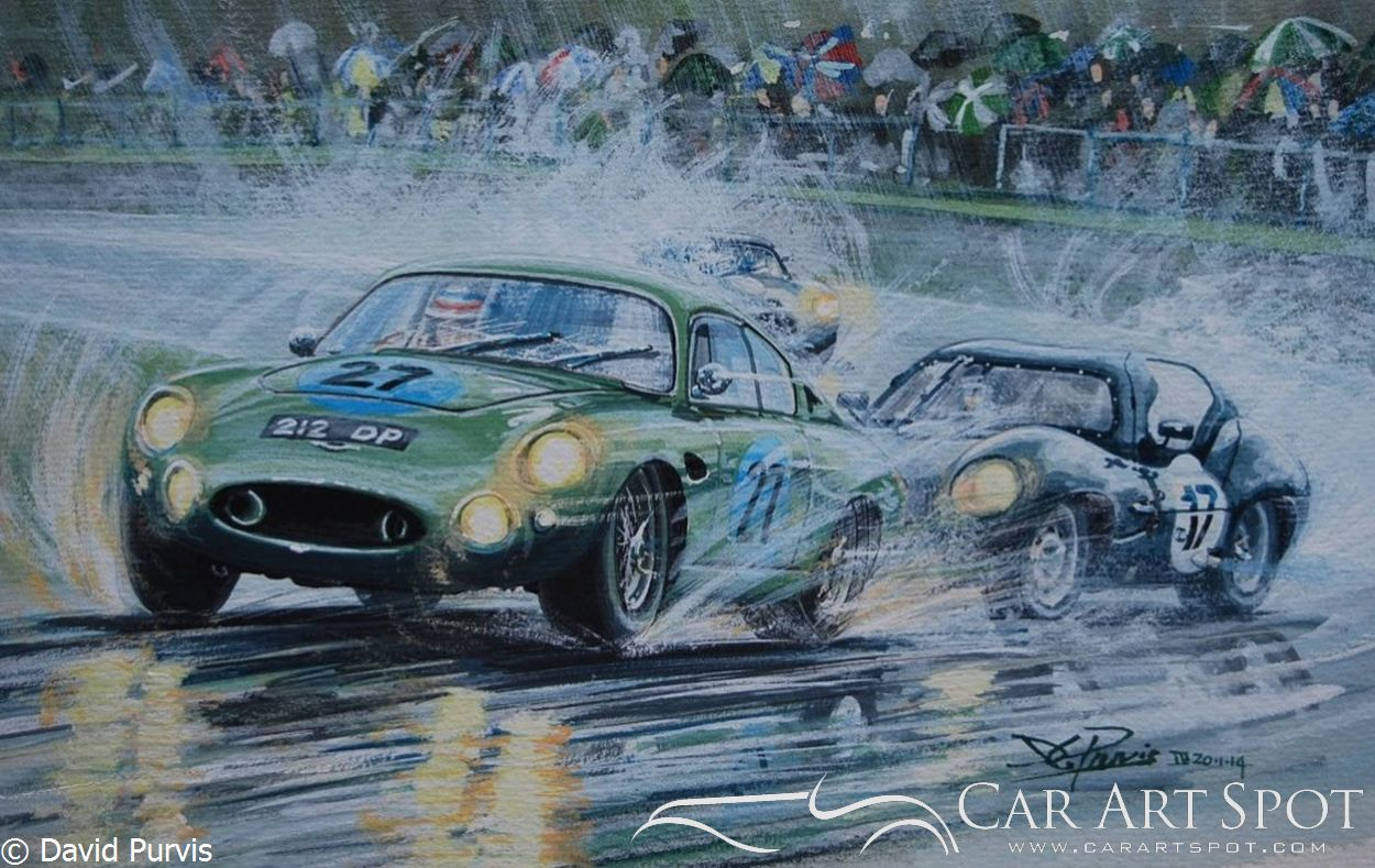 Aston Martin Project 212 Goodwood Revival 2013 by David Purvis