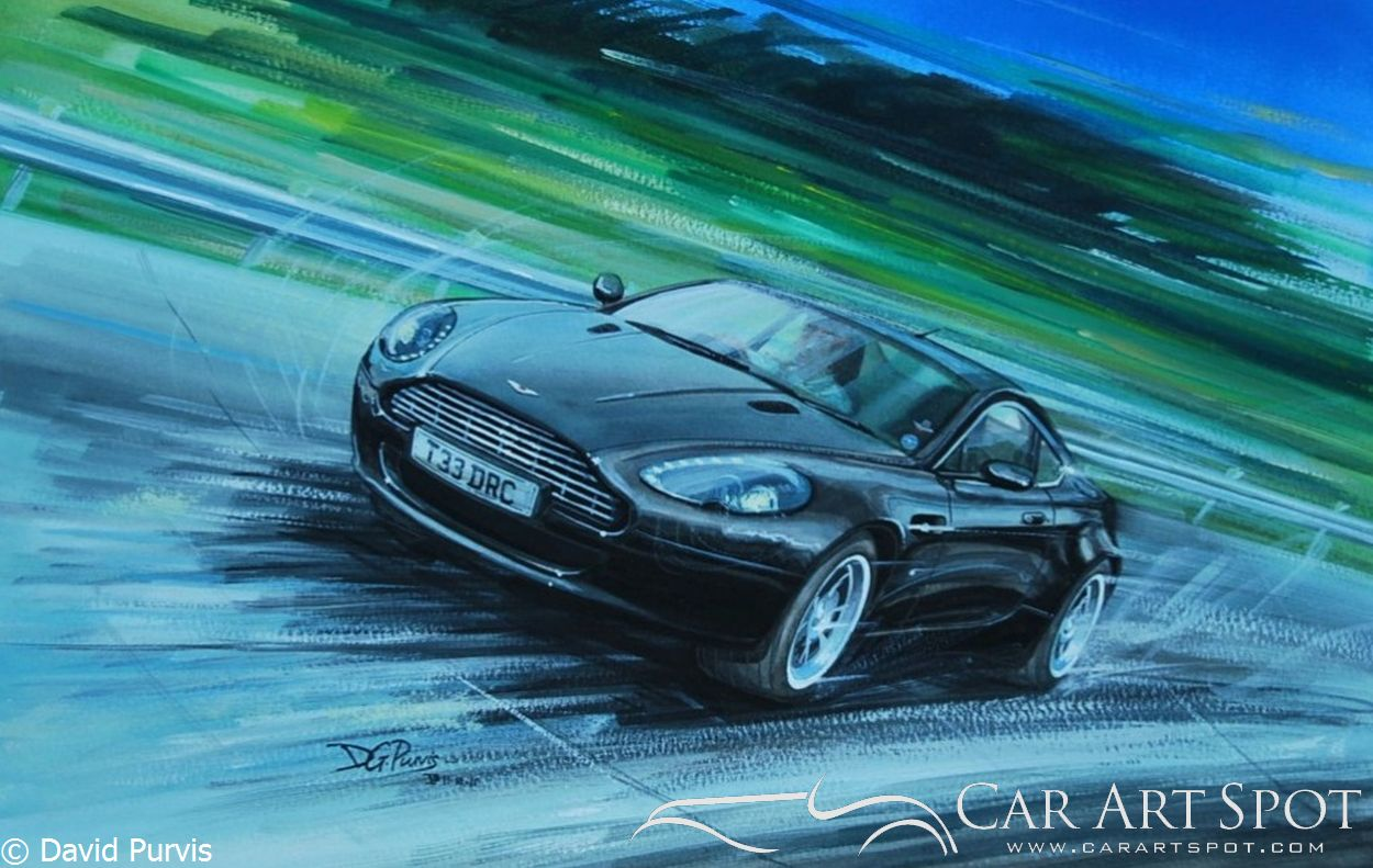 Doug's Aston V8 Vantage by David Purvis