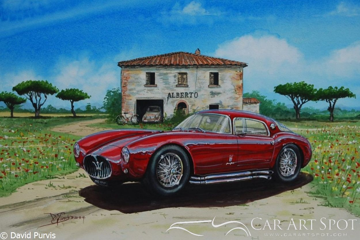 Maserati A6GCS Berlinetta '53 by David Purvis