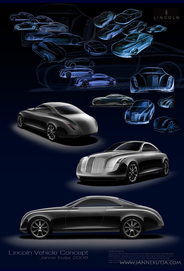 Automotive Art and Design by Janne Kutja