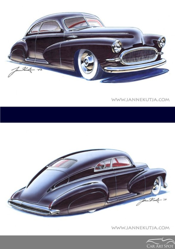 Automotive Artist and Designer Janne Kutja