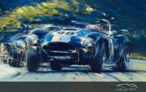 Automotive Car Art by Klaus Wagger