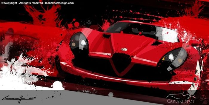 Automotive Artist Michele Leonello