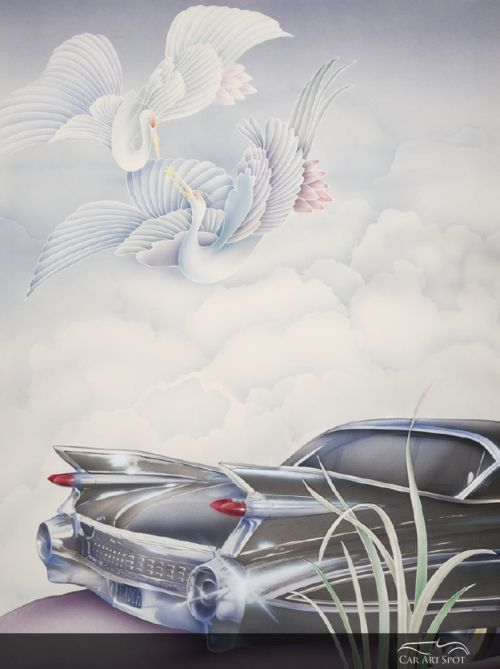 Automotive Fine Art by Nicola Wood