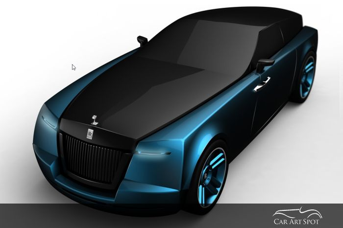 Rolls-Royce shooting brake design by Niels van Roij
