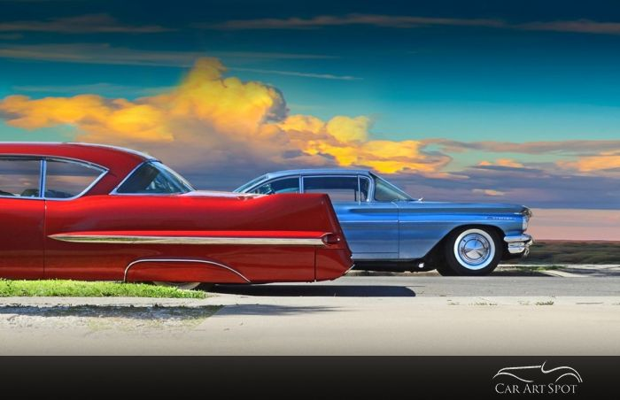 Customized automotive car art by Paul Vanzella