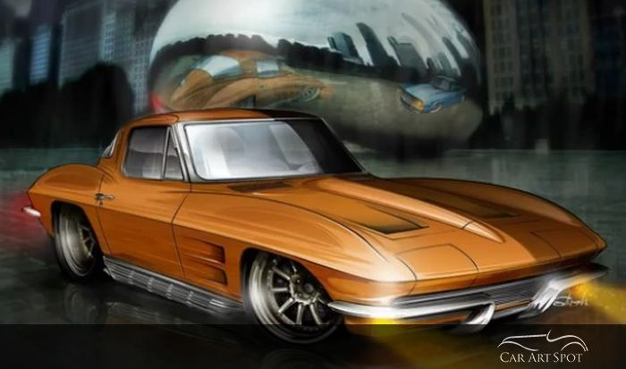 automotive art by Studio Problem Child Kustoms