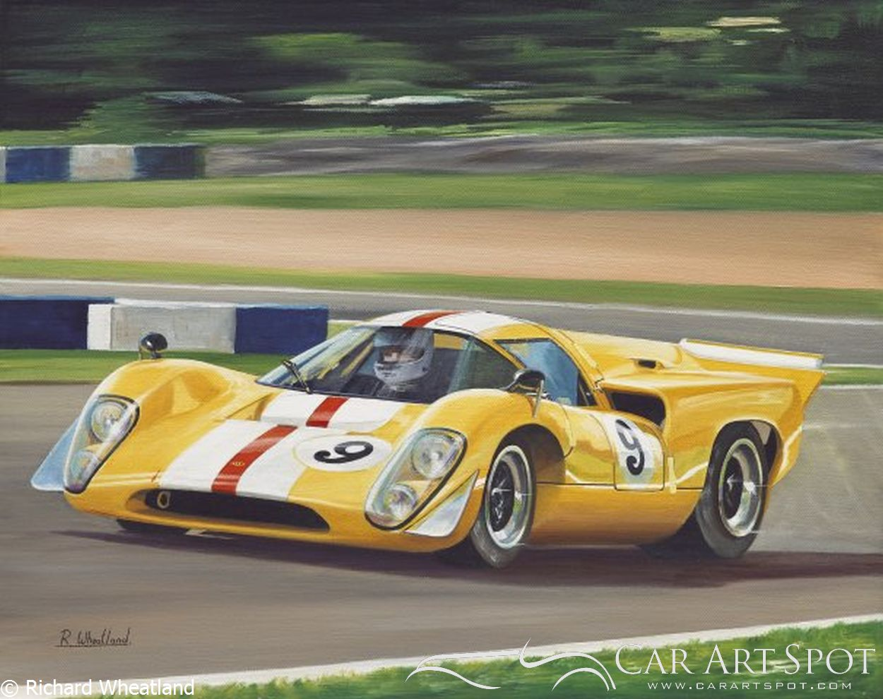 Lola T70 MK3Ba by Richard Wheatland