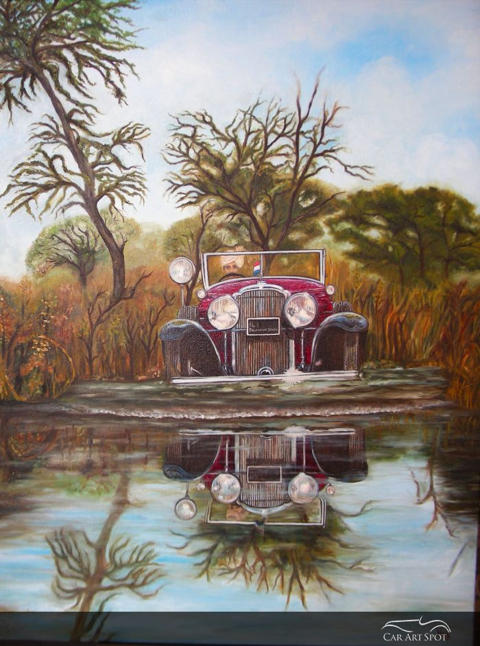 Automotive Art by Princess Vidita Singh