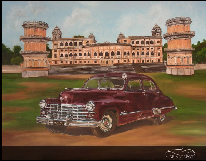 1952 Cadillac at Patiala Palace by Vidita Singh