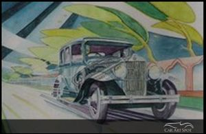 Automotive Art Deco by Vidita Singh
