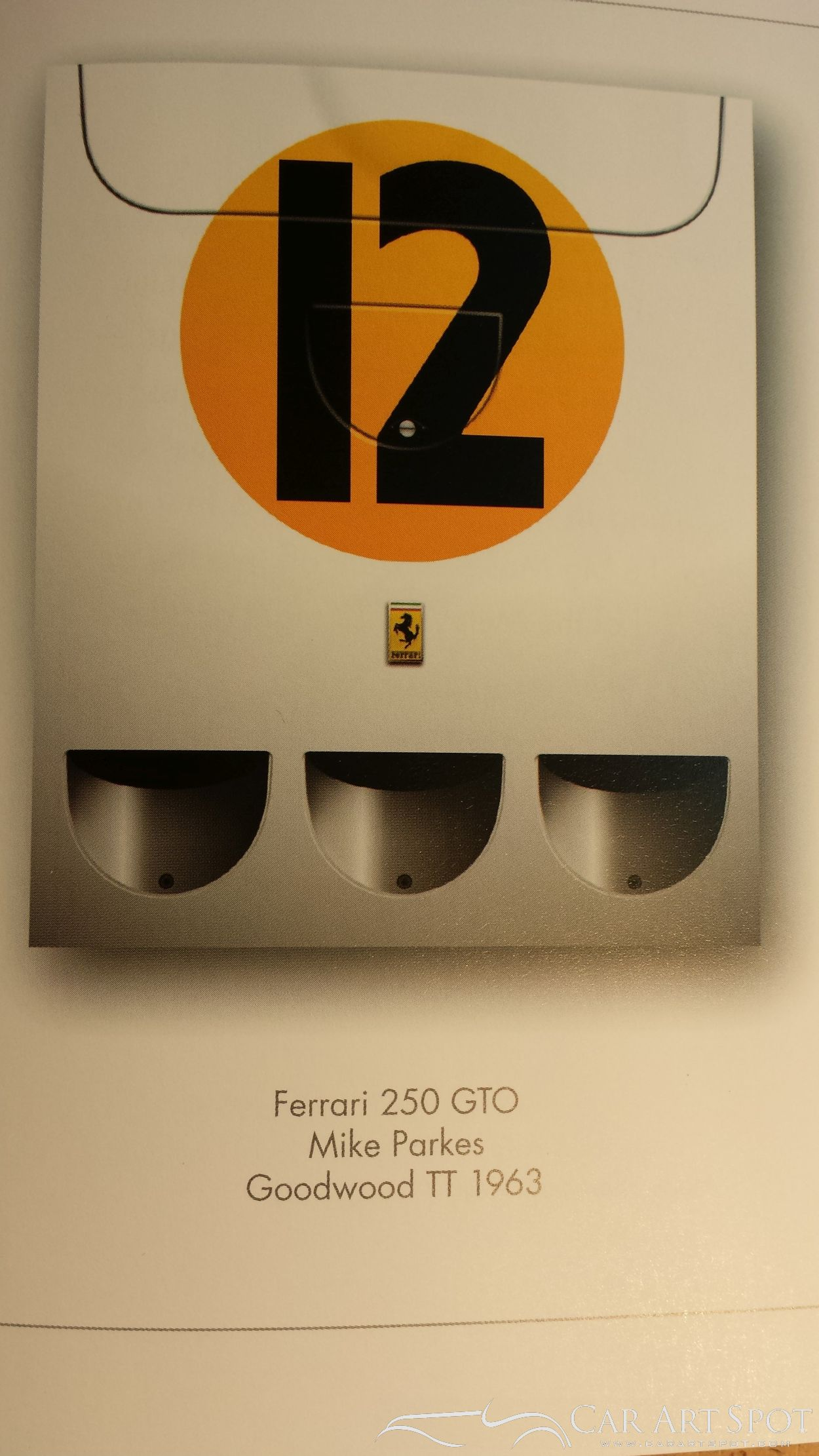 Racing Colours Ferrari 25 GTO by Simon Owen