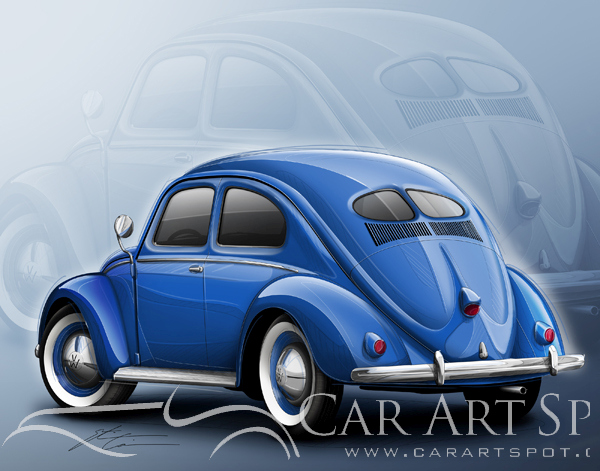 Etienne Carignan Automotive Art