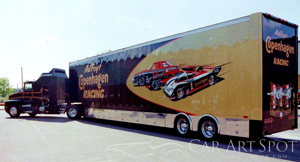 Gregory Whitt Automotive Truck Art