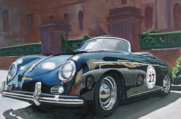 James Caldwell - 1955 Porsche Speedster