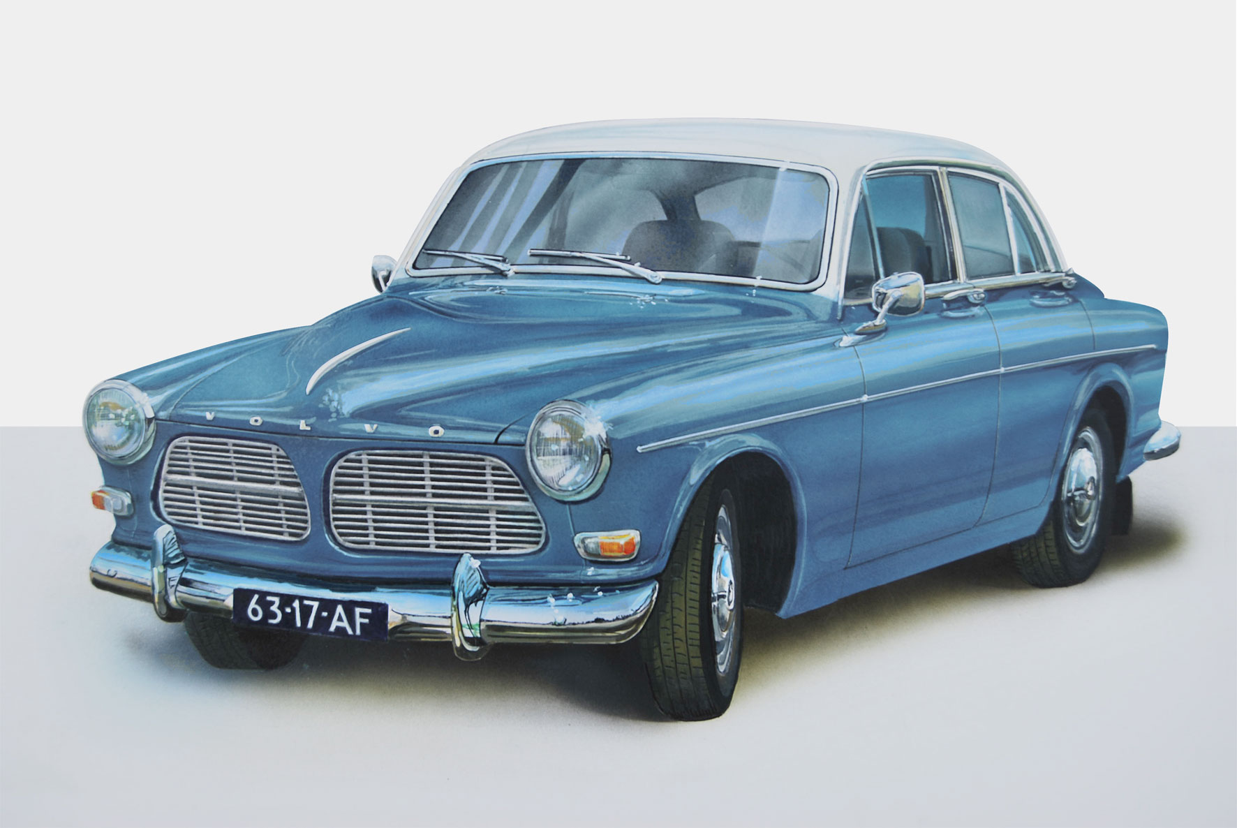Volvo Amazon by Onno van Beek