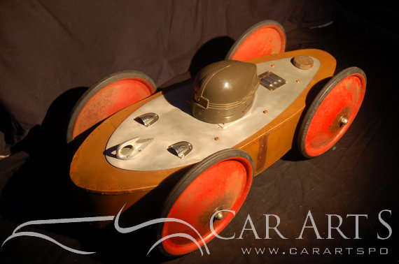 Car Sculpture by Baron Margo