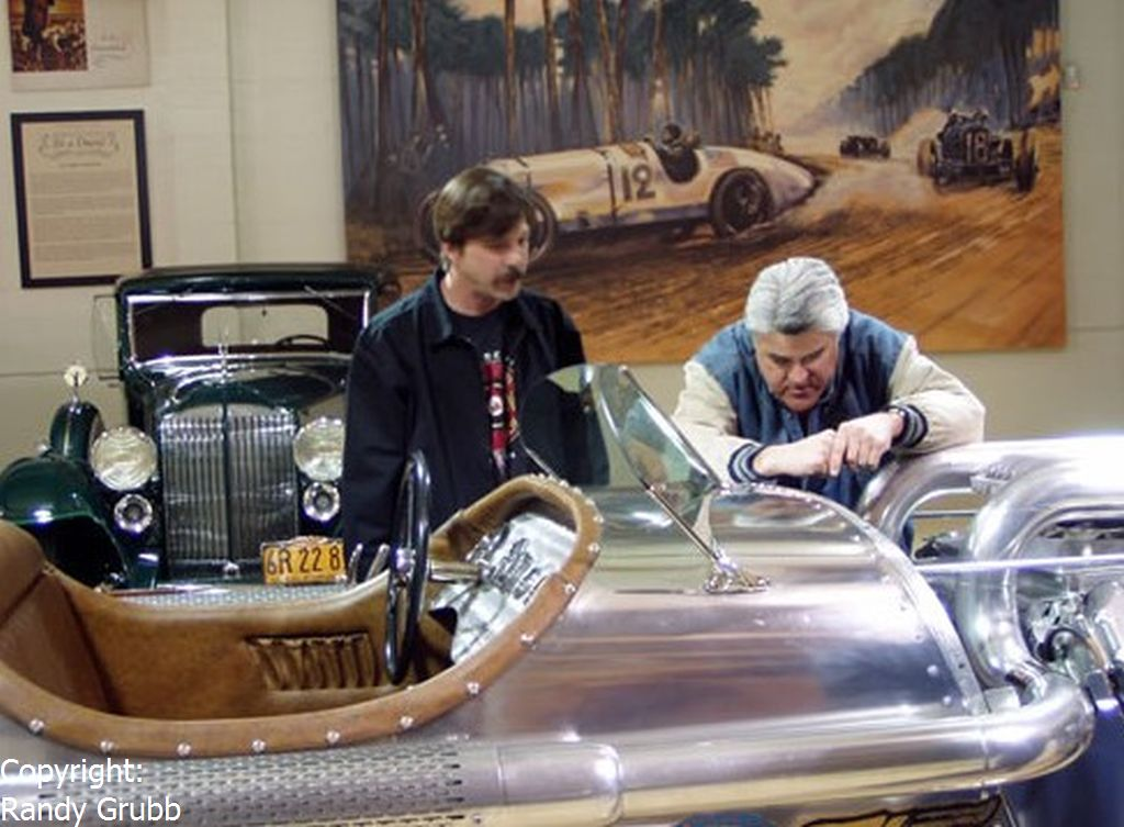 Randy Grubb and Jay Leno