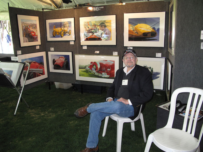 Roger Blanchard at the Amelia Concours d'Elegance