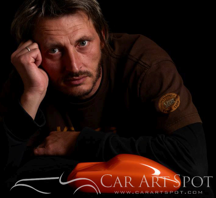 Automotive Artist Stéphane Dufour